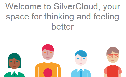 Welcome to Silvercloud, your space for thinking and feeling better